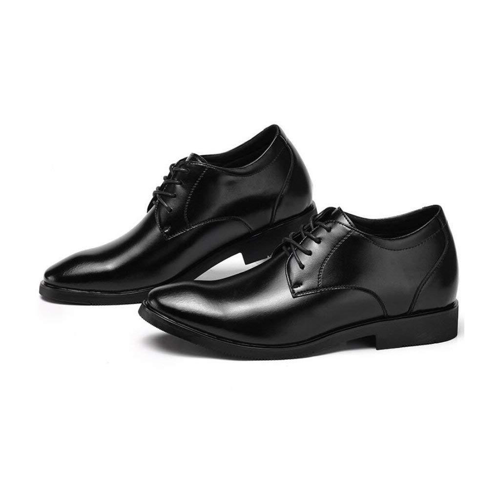 Fashion Business schuhe schuhe schuhe 2018 Herrenschuhe Koreanische Version Spitzen Leder Atmungsaktive Herren Kleider Schuhe Hochzeitsschuhe,schwarz,39 (Farbe   Wie Gezeigt Größe   Einheitsgröße) fc43ee