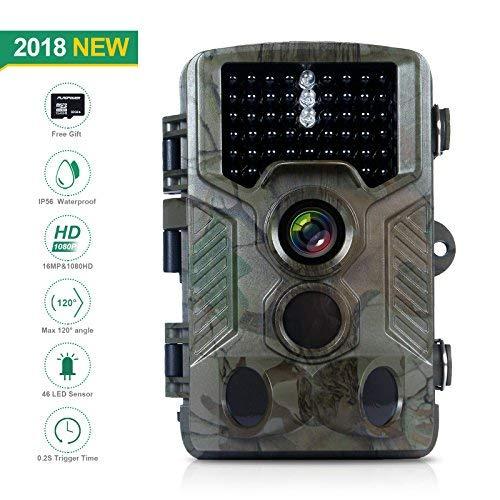 一番人気物 FLAGPOWER Hunting Trail Camera FLAGPOWER 16MP 1080P 0.2s Trigger Design [並行輸入品] Time Wildlife Game Camera with 2.4 LCD 850nm Upgrading IR LEDs Night Vision up to 75ft/2.3m IP56 Spray Water Protected Design [並行輸入品] B07H5GTFSY, むせんや:095b72ba --- arianechie.dominiotemporario.com