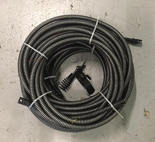 50' + 50' = 100' Drain Auger Cable Replacement Cleaner Snake Clog Pipe Sewer