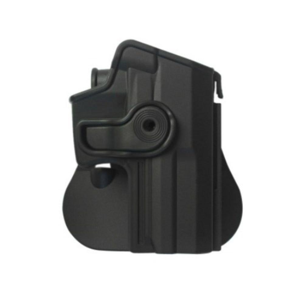 IMI Defense Conceal Carry Tactical Retention Roto Holster de polímero para Heckler & Koch USP Compact 9/40 IMI-Defense