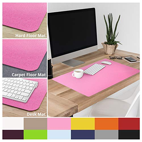 casa pura Non-Slip Pink Desk Mat | 20