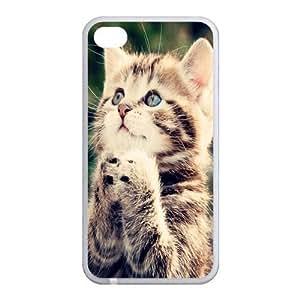 Custom Cat Back Case for iphone4,4S JN4S-102