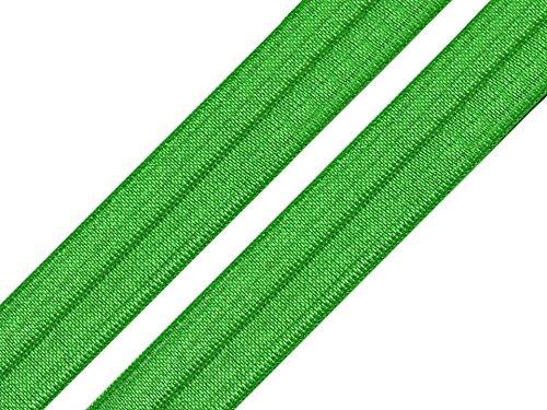 2 Meter elastisches Einfassband 18 mm grün