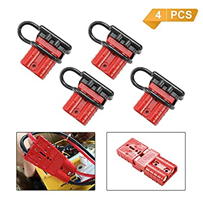 BUNKER INDUST Battery Quick Connect Wire Harness Plug Kit Battery Cable Quick Connect Disconnect Plug for Winch Auto Car Trailer Driver Electrical Devices