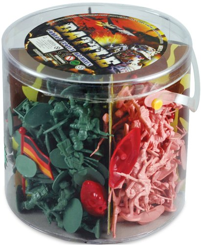 Toy Story Bucket (Military Figures in Carry Bucket - 200-Piece Set)