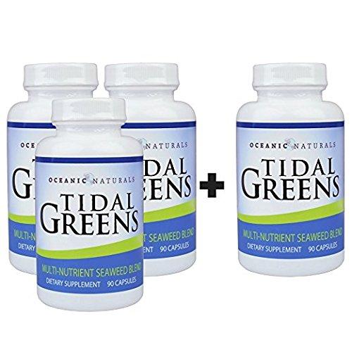 Brown Natural Seaweed (Tidal Greens Natural Seaweed Supplement (Buy 3 Get 1 FREE))
