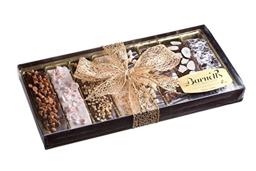 Gourmet Chocolate Biscotti Gift Display Box