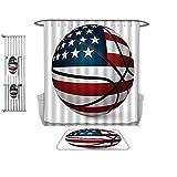 Best freestanding basketball goal - QINYAN-Home Prints Decorate The Bathroom Sports Decor Basketball Review