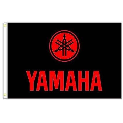 Amazon.com: homeking Yamaha Bandera Banner 3 x 5ft 100 ...