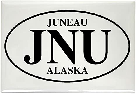 CafePress – Juneau rectangular imán – rectangular imán, 2