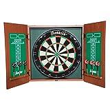 FRANKLIN Sports Bristle Dartboard and Cabinet Set