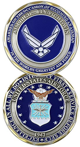 U.S. Air Force Airman Award Challenge Coin by Eagle Crest by Eagle Crest