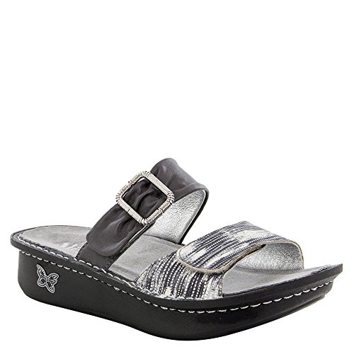 Alegria Womens Karmen Wrapture Sandal - 38 - Slick Open Loop