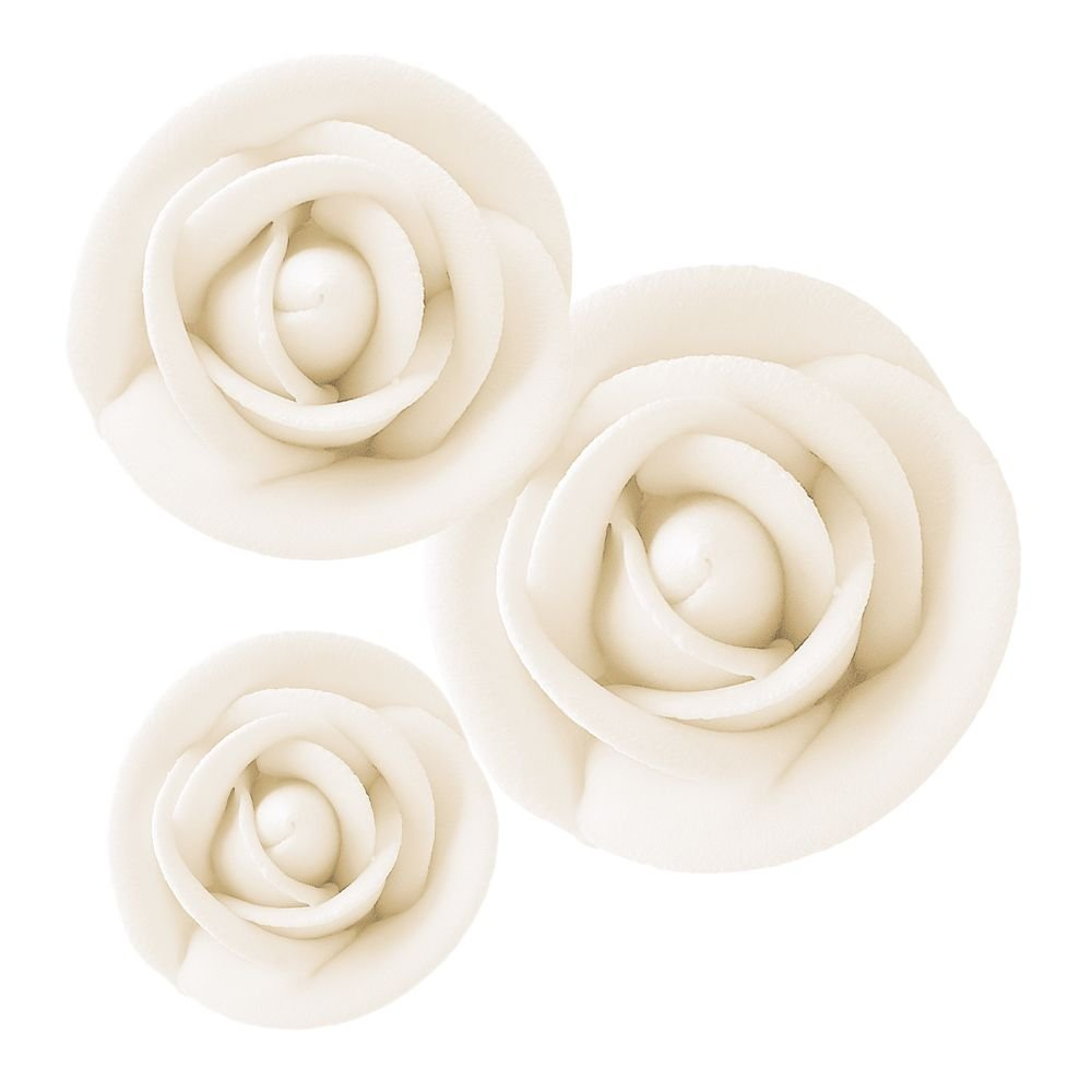 Lucks Royal Icing White Rose Variety Pack