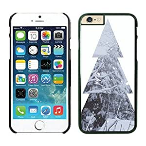 The Christmas Tree On Christmas Day Lovely Mobile Phone Protection Shell for iphone 6 Case-Unique Soft Edge Case(2015),Christmas tree iPhone 6 Case 5 Black