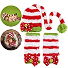 NUOLUX Christmas Baby Newborn Handmade Clothes Baby Photograph Props