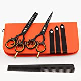 Professional Hair Cutting Scissors Shears Set Hairdressing Thinning Trimming Texturizing Barber Salon Razor