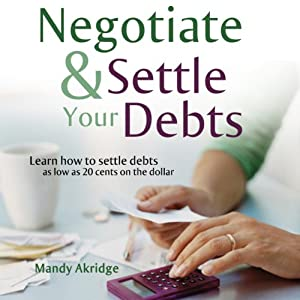 How do you negotiate a debt settlement?