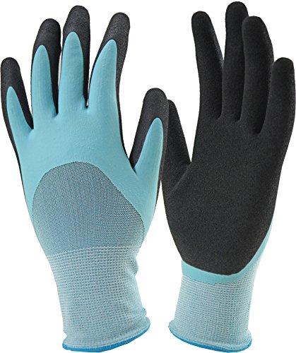 Miracle-Gro MG30604/WML 3/4 Aqua Flat Latex Gloves