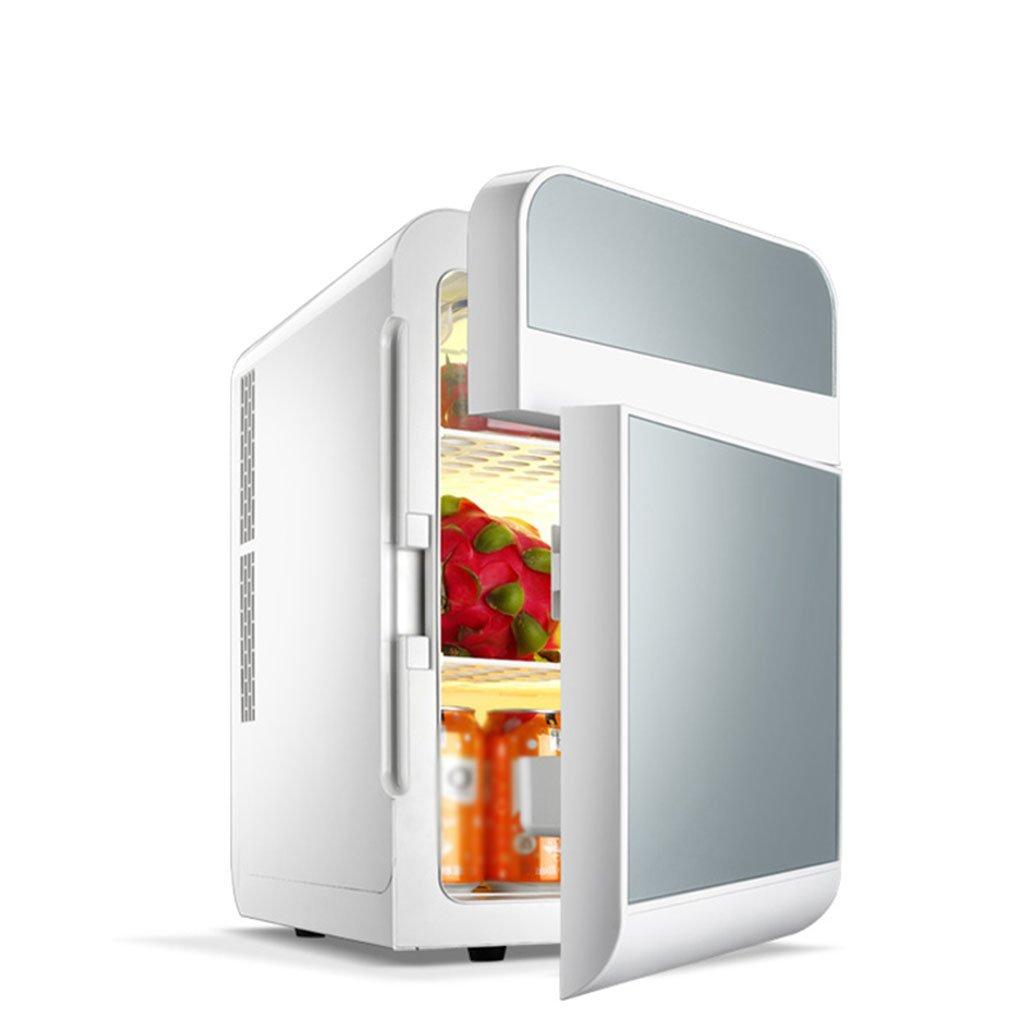 Car Refrigerators YXGH 20L Dual Refrigeration Car Mini Fridge Small Home Mini Dormitory Car Home Dual-use Double Door Refrigerator Fridge Automotive Accessories Refrigerators