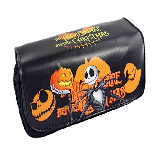 CHITOP Cartoon Pencil Pen Case Five Nights at Freddy`s/The Nightmare Before Christmas/Cosmetic Makeup Coin Pouch Zipper Bag (PBAG 004) -