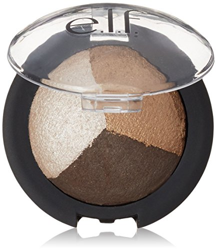 e.l.f. Baked Eyeshadow Trio Brown Bonanza, 0.14 Ounce