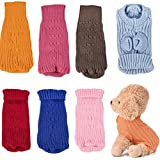 #1: Letdown Puppy Clothes, Hot Sale,Pet Dogs Acrylic Knitted Jumper Warm Sweater Puppy Coat Jacket Clothes Costume