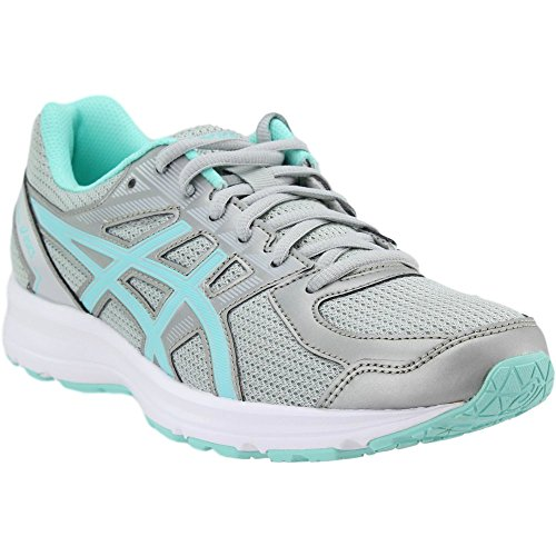 ASICS Women's T7K8N.9667 Jolt Running Shoes, Glacier Grey/Aqua Splash/White, 10.5