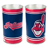 Sporting Goods : Cleveland Indians 15'' Waste Basket
