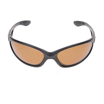 Andux Lunettes de pêche lunettes polarisantes protection de Pêche lunettes en vélo VTT Lunettes de soleil Gl-05 (jaune) dgw8sQ