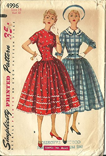 50s dress patterns simplicity - 7