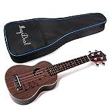 Generic Spruce Body Rosewood Fretboard Ukulele 4 Strings Hawaiian Guitar