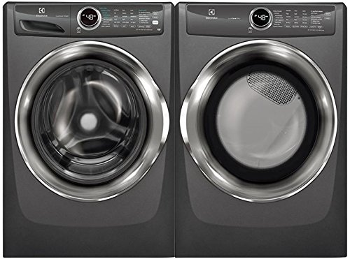 Electrolux Titanium Front Load Laundry Pair with EFLS527UTT