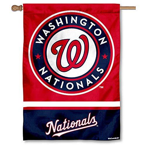 (WinCraft Washington Nationals Double Sided House Flag)
