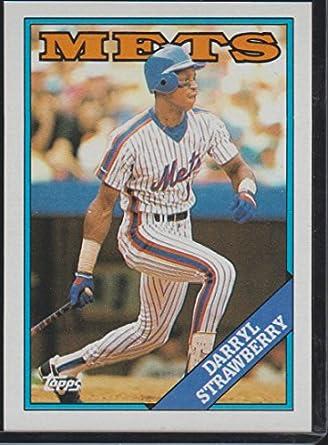 1988 Topps Darryl Strawberry Mets Baseball Card 710 At