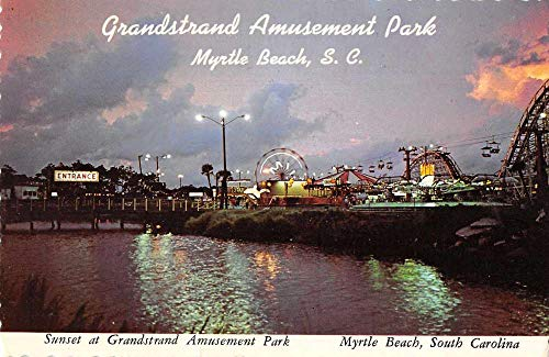 Myrtle Beach South Carolina Grandstrand Amusement Park Postcard JA455516