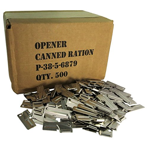 - 500 Pack of G.I. P-38 Can Openers