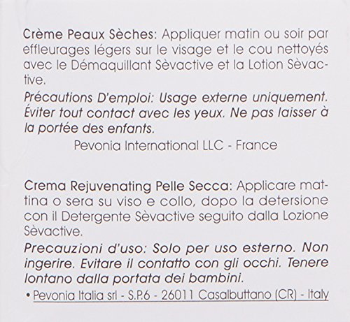 Pevonia Rejuvenating Dry Skin Cream, 1.7 Ounce