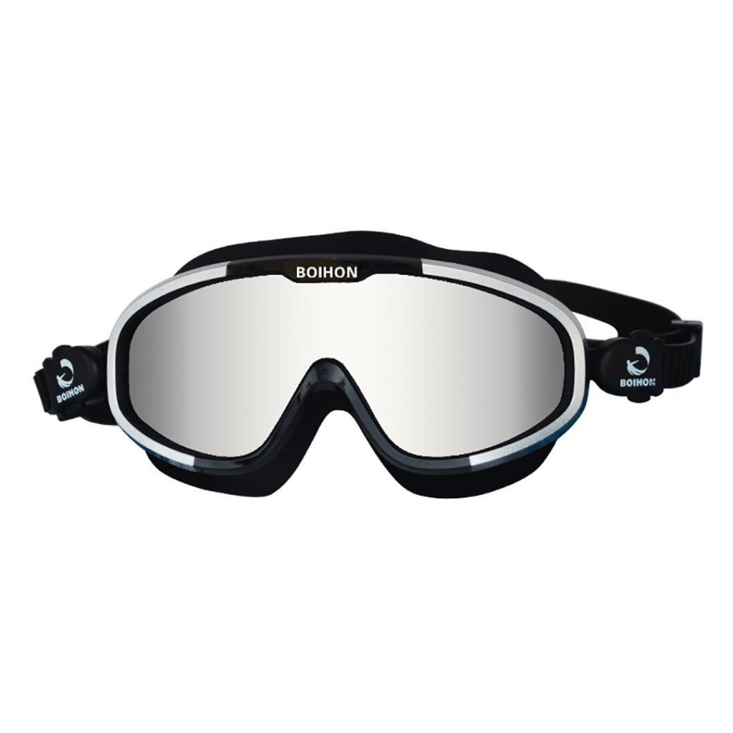BOIHON Adult Professional Waterproof Anti-Fog UV Protect Swim Glasses Swimming Goggles by Dressffe (H)