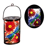 New Creative Dragonfly Garden Friends Hanging Solar Lantern