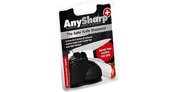 Amazon.com: AnySharp Plus: afilador de cuchillos y tijeras ...