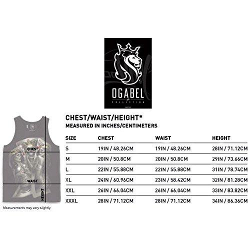 OGABEL OG Abel Mens OG Liberty 017 Tank Top Shirt Black