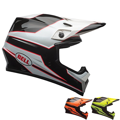 Bell Unisex-Adult Off Road Helmet (Stryker Orange, XX-Large) (Mx-9 mips D.O.T certified) (Velocity Off Road Helmet)
