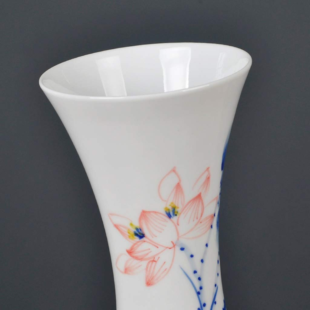 ZHAO YELONG China Lotus Flower Vase,Jing Dezhen Pequeño Jarrón De ...