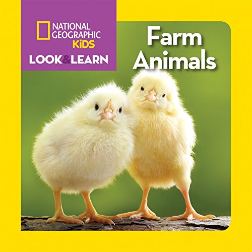 National Geographic Kids Look and Learn: Farm Animals (Look & Learn)