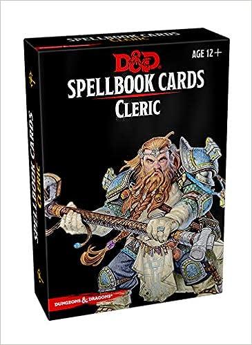Descargar Libro Kindle Spellbook Cards: Cleric Epub Gratis