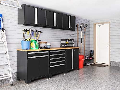 Garage Storage Garage Cabinets 58627 Newage Products Pro Series 3 0 Red 7 Piece Set Tools Home Improvement Geniemensch Com