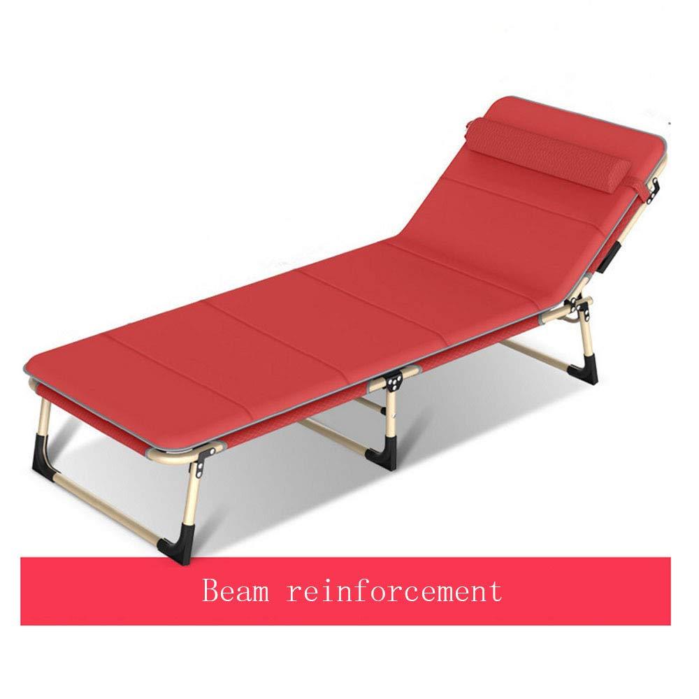 RNGNBKLS Lit Pliant Randonnée Extérieure en Aluminium Lit D'appoint Portable Lit Simple Lit pour Bébé - 200 Kg De Charge Maximale C -