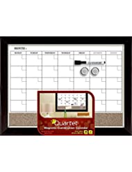 Quartet Dry Erase Board / Cork Board, Magnetic, 17\