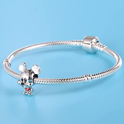 CHAMILIA /& OTHER EU BRACLET Sterling Silver 925 Minnie Mouse FIT PANDOR